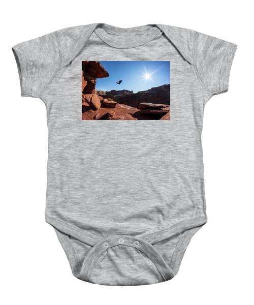 Base Jumper Baby Onesie