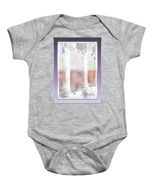 Sacre - Coeur Sunset Baby Onesie