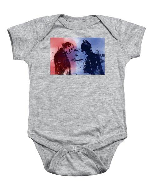 Batman And Joker Baby Onesie