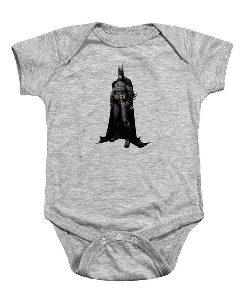 Batman Splash Super Hero Series Baby Onesie by Movie Poster Prints
