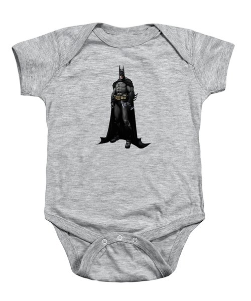 Batman Splash Super Hero Series Baby Onesie