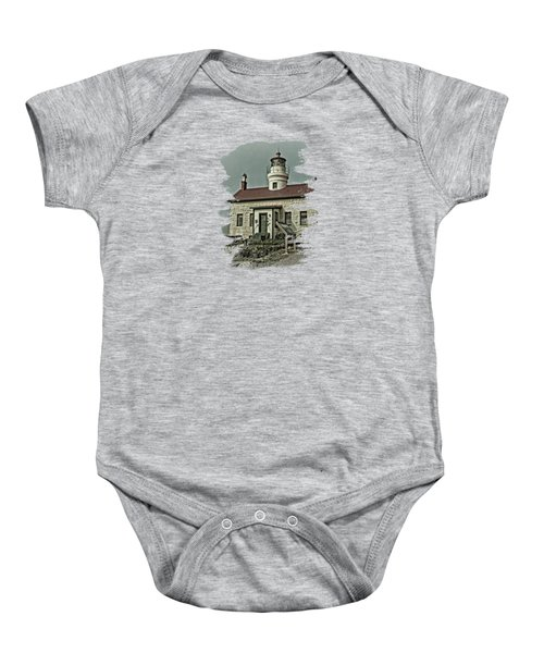 Battery Point Lighthouse Baby Onesie