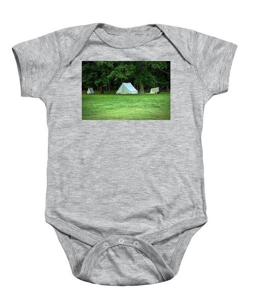 Battlefield Camp Baby Onesie