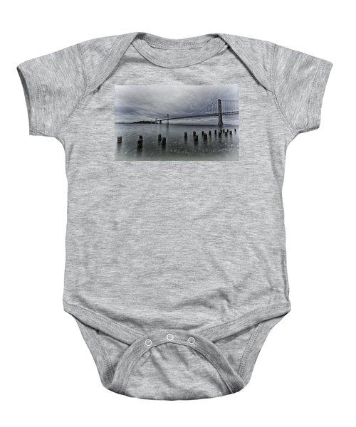 Bay Bridge Baby Onesie