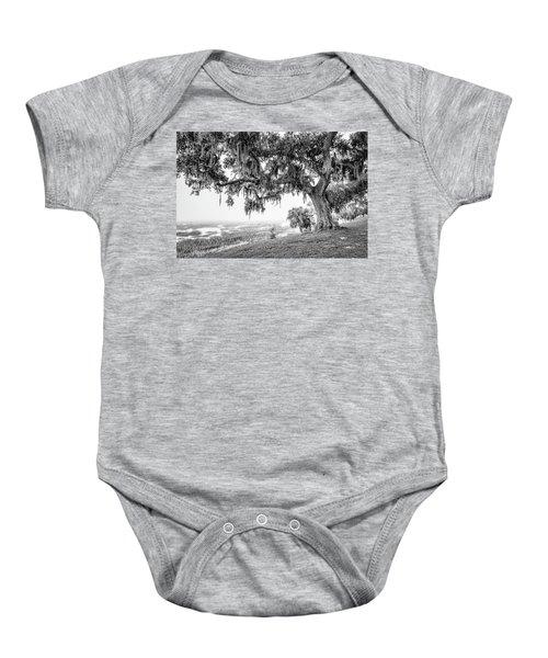 Bay Street Oak View Baby Onesie
