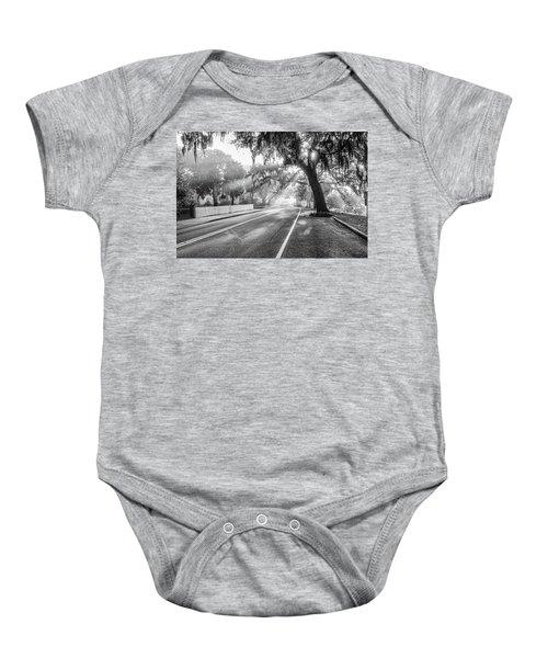 Bay Street Rays Baby Onesie