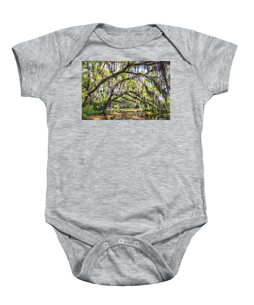 Bayou Cathedral Baby Onesie