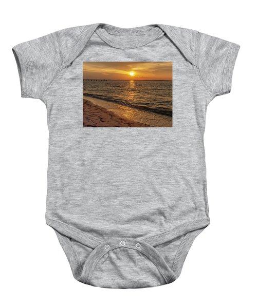 Bayside Sunset Baby Onesie