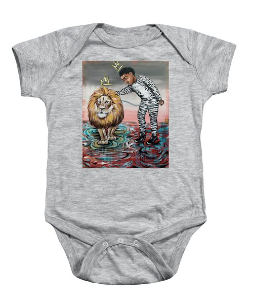 Be Courageous My Son Baby Onesie