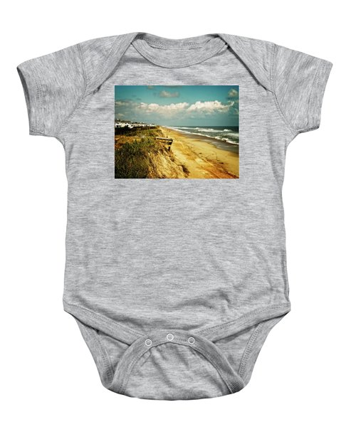 Beach At Corolla Baby Onesie