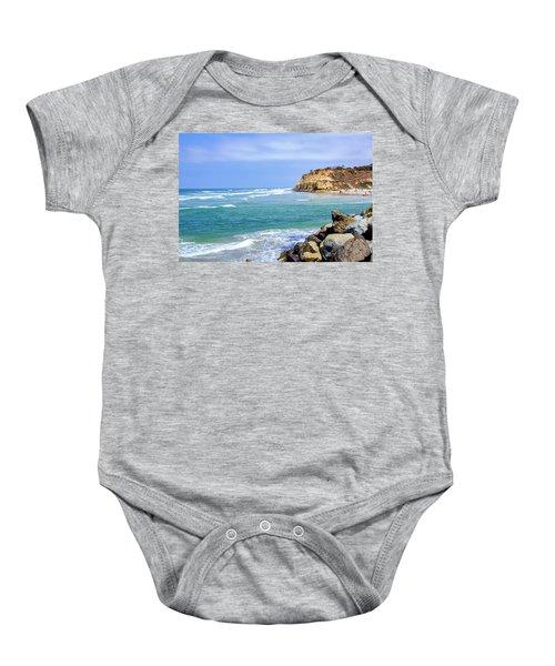Beach At Del Mar, California Baby Onesie