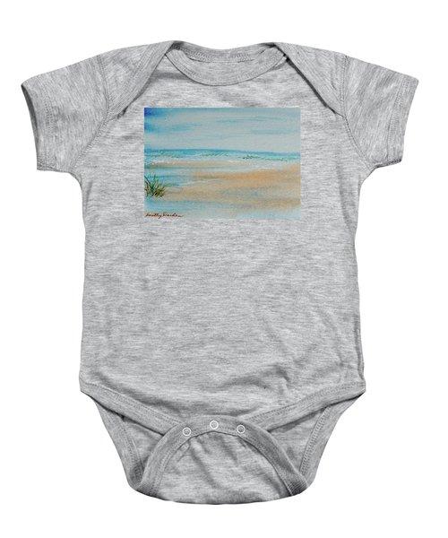 Beach At High Tide Baby Onesie