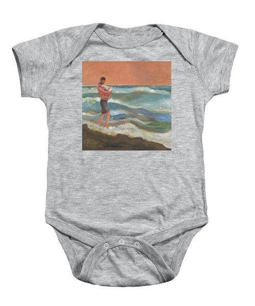 Beach Baby Baby Onesie