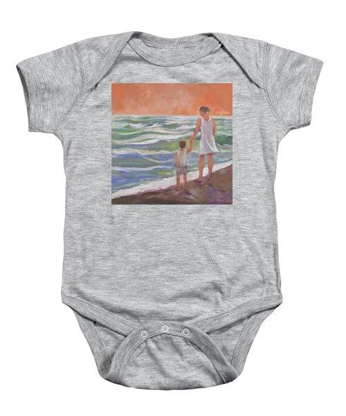 Beach Boy Baby Onesie