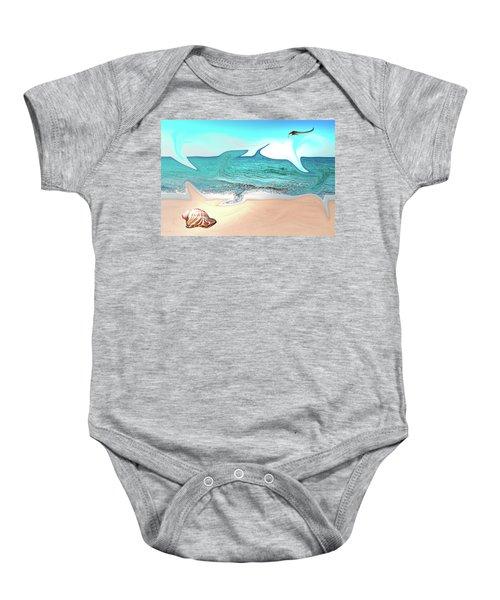 Beach Dream Baby Onesie
