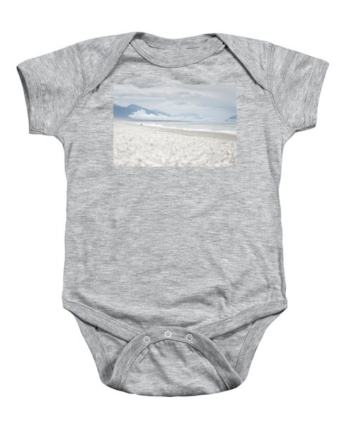 Beach For Two Baby Onesie