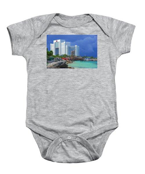 Beach Life In Cancun Baby Onesie