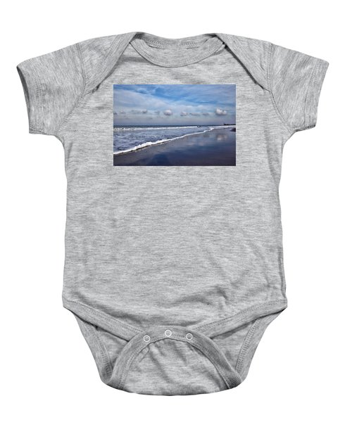 Beach Reflections Baby Onesie