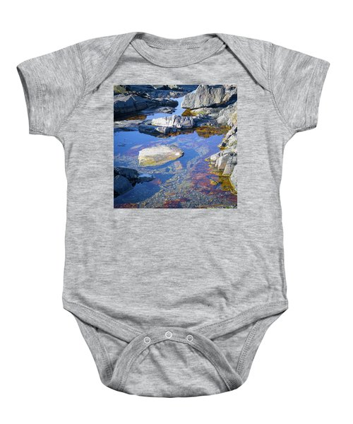 Beach Rocks Baby Onesie