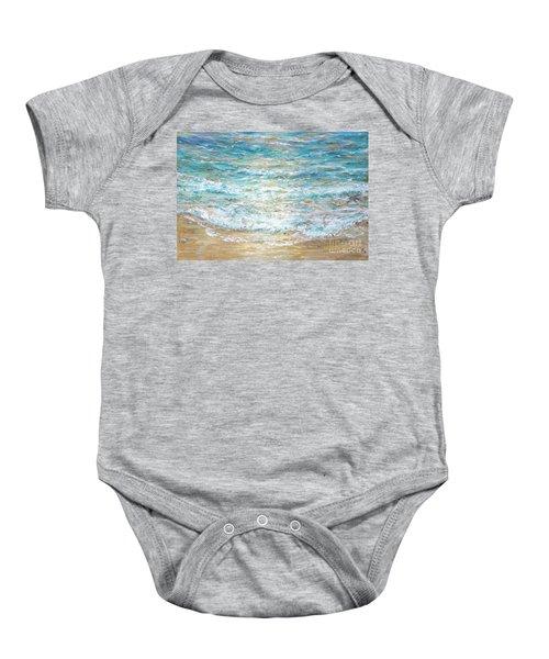 Beach Tide Baby Onesie