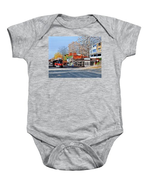 Beacher Cafe Baby Onesie
