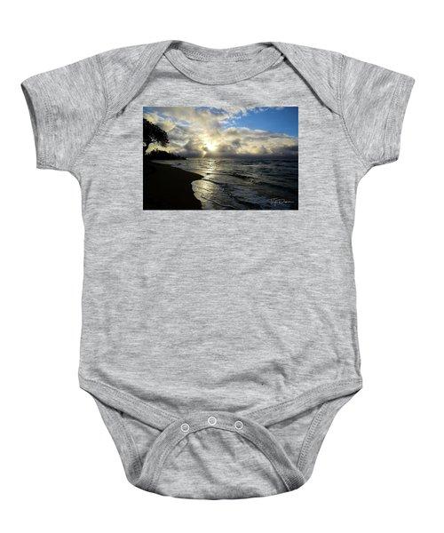 Beachy Morning Baby Onesie
