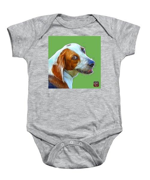 Beagle Dog Art- 6896 -wb Baby Onesie