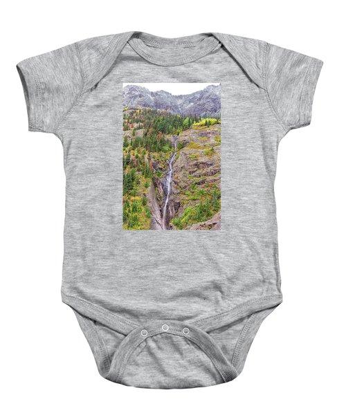 Bear Creek Falls Baby Onesie