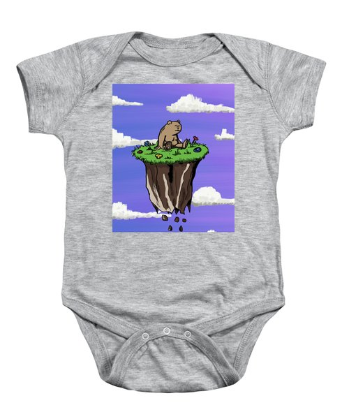 Bear Rock Baby Onesie