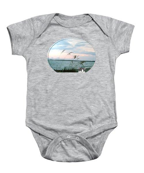 Bearly Beachin Baby Onesie