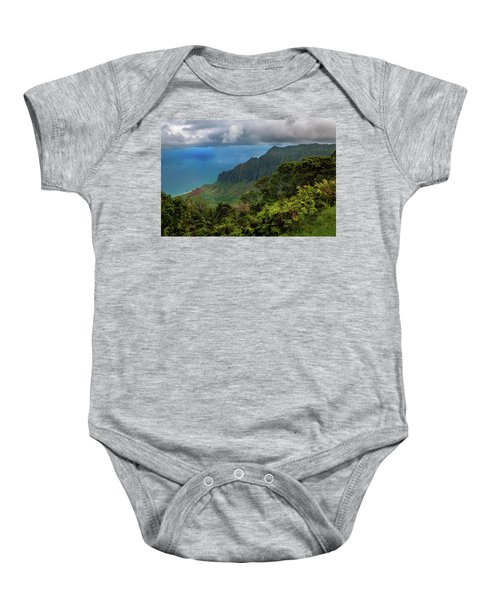 Beautiful And Illusive Kalalau Valley Baby Onesie