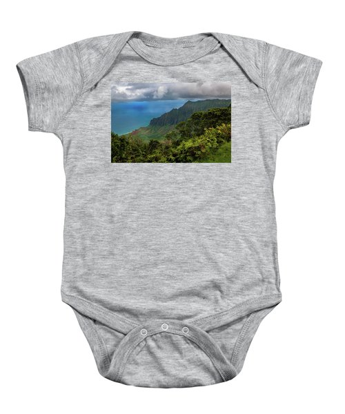 Beautiful And Illusive Kalalau Valley Baby Onesie