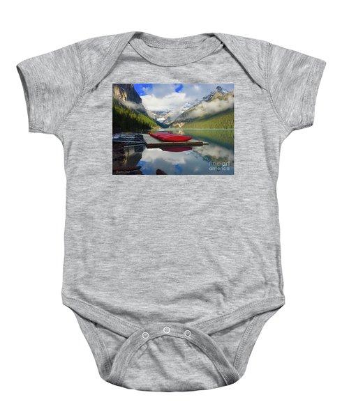 Beautiful Banff Baby Onesie