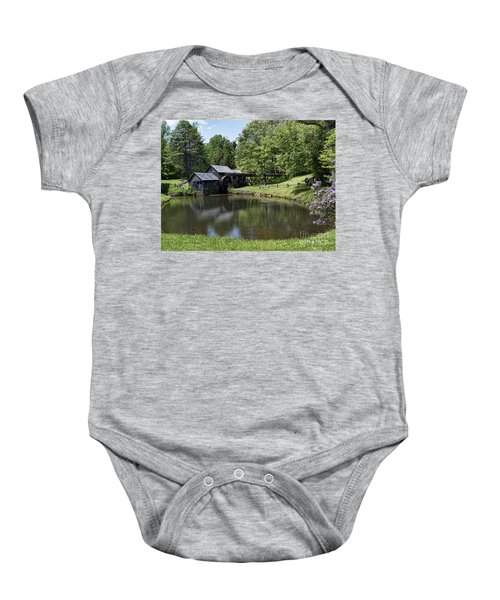 Beauty And Peace Baby Onesie