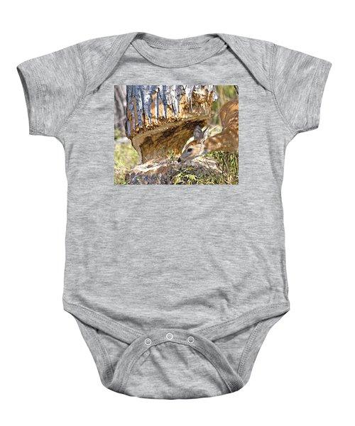 Beaver Wannabe Baby Onesie
