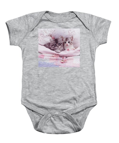 Bedtime Kitties Baby Onesie