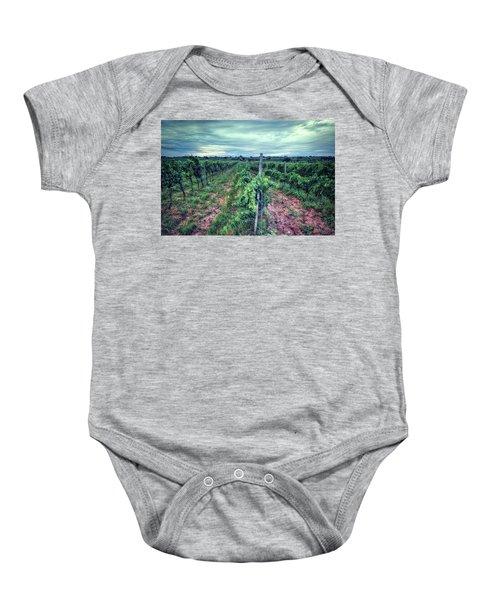 Before The Harvesting Baby Onesie