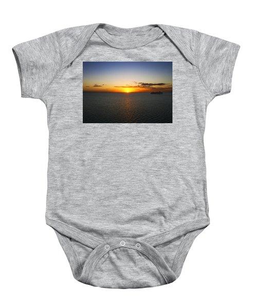 Belize Sunset Baby Onesie