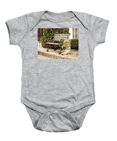 Bench And Boot 2 Baby Onesie