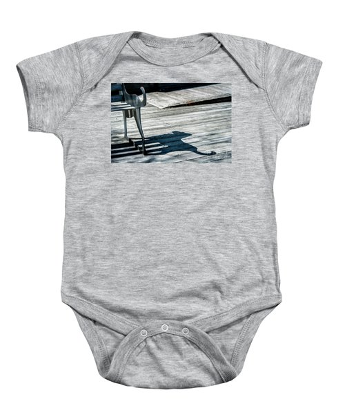 Bench Shadow Baby Onesie
