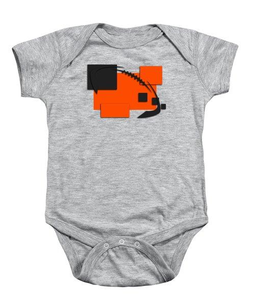 Bengals Abstract Shirt Baby Onesie