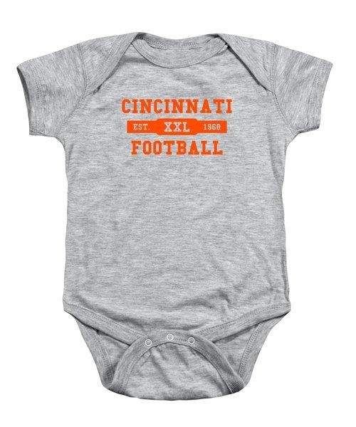 Bengals Retro Shirt Baby Onesie