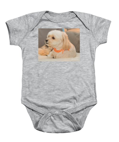 Benji On The Look Out Baby Onesie