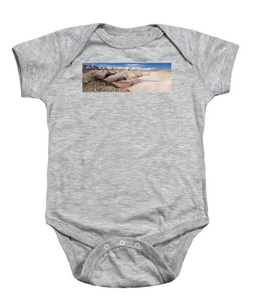 Bentonite Mounds Baby Onesie