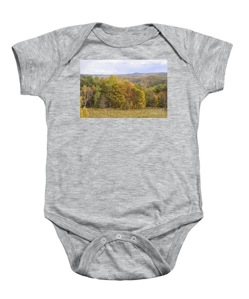 Berkshires In Autumn Baby Onesie