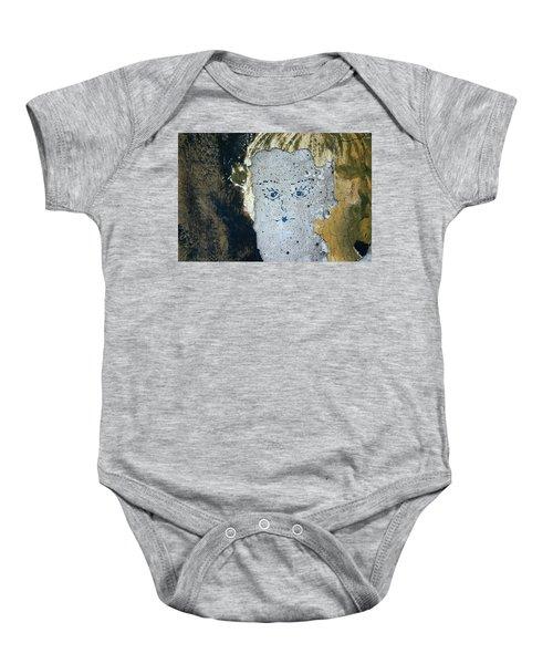 Berlin Wall Mural Baby Onesie