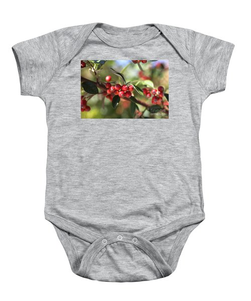 Berry Delight Baby Onesie