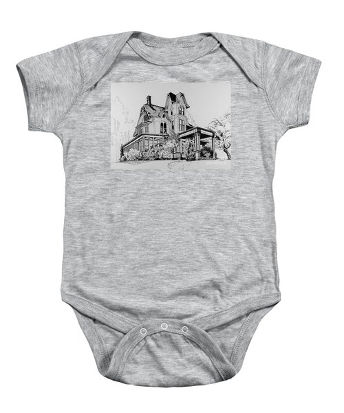 Betsy Ross' Home In Dover, N.j. Baby Onesie