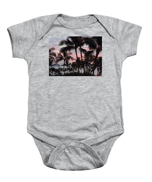 Big Island Sunset 2 Baby Onesie