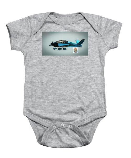 Big Muddy Air Race Number 100 Baby Onesie
